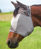 "Cashel ""Leopard"" Standard Fly Mask with Ears"