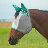 "Cashel ""Mint"" Standard Fly Mask with Ears"