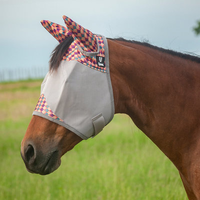 """Cashel """"Palms"""" Standard Fly Mask with Ears"""