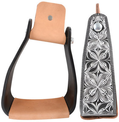 Cashel Slanted Engraved Stirrups