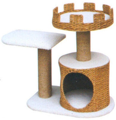 Cat Furniture w/ Crown, Platform & Condo, each