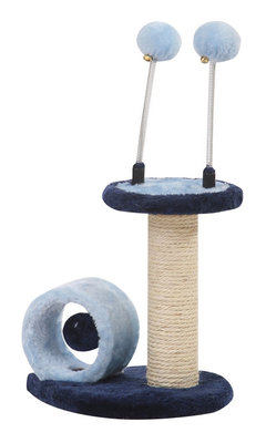Cat Toy with Sisal Post & Teasing Toys