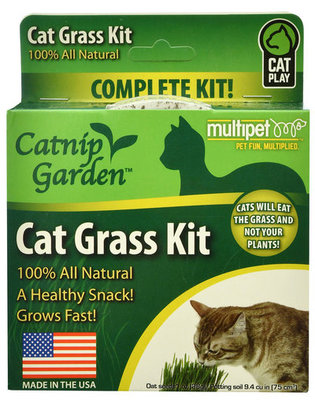 Catnip Garden Cat Grass Kit, 1 oz