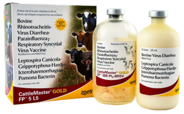 CattleMaster Gold FP 5 L5, 50 mL - 25 Dose Vial