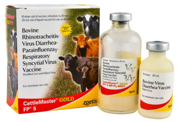 CattleMaster Gold FP 5, 10 ds - 10 Dose Vial