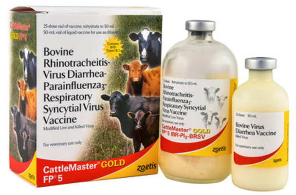 CattleMaster Gold FP 5, 50 mL - 25 Dose Vial