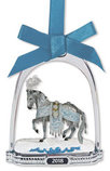 Celestine Holiday Breyer Horse Stirrup Ornament