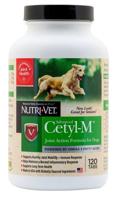 Advanced Cetyl M, for Dogs 120 tabs