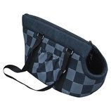 Checkered Pet Carry Tote