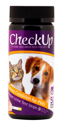 CheckUp Kidney Condition Detection Test Strips, Dog/Cat