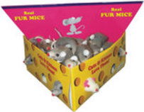 Furry Mice Cat Toy