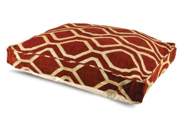 "Chenille Pet Pillow Bed, 36"" x 26"" x 4"" H"