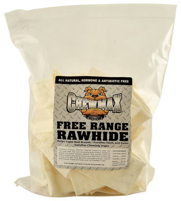 Natural Beef Rawhide Chips, 24 oz