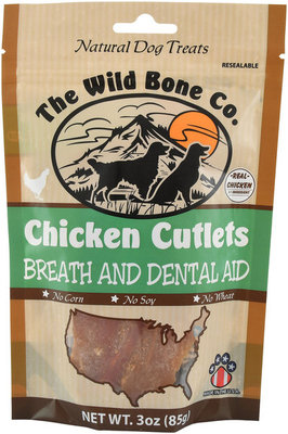 Chicken Cutlets with Breath & Dental Aid