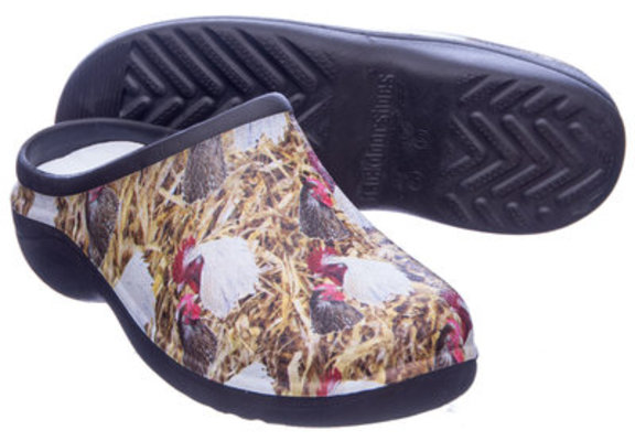"""Chickens"" Backdoor Shoes"
