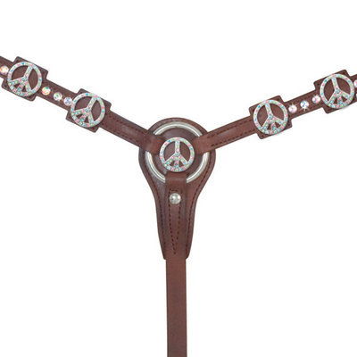 Alamo Peace Tack Collection, Chocolate