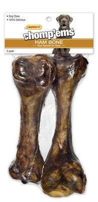 Chomp'ems Ham Bone, 2-pack