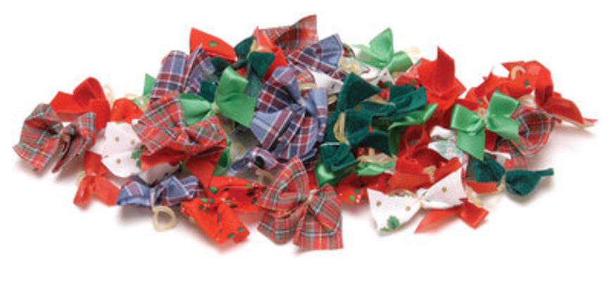 Christmas Bows, 50 count