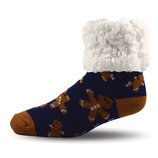 Pudus Christmas Fuzzy Slipper Socks