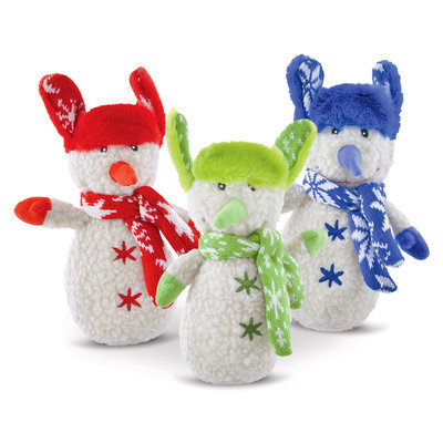 Christmas Snowman with Scarf, 3 pack