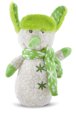 Plush Snowman with Scarf & Hat