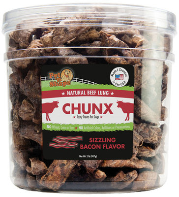 Pet n' Shape Chunx Dog Treats, 2 lb