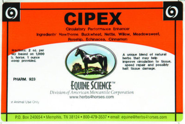 Cipex, 10 lb (160 servings)