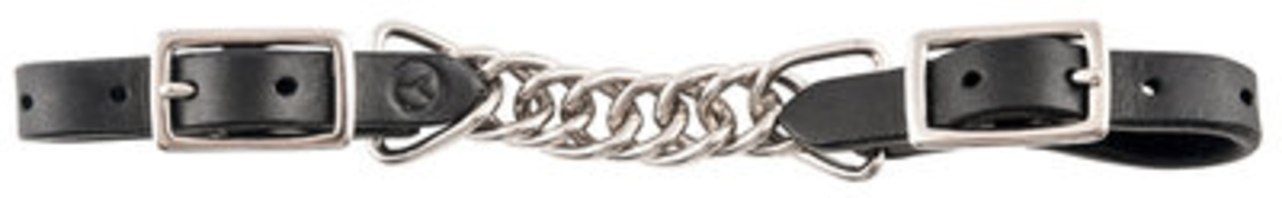 """Circle Y 3.5"""" Double Flat Link Curb Chain"""
