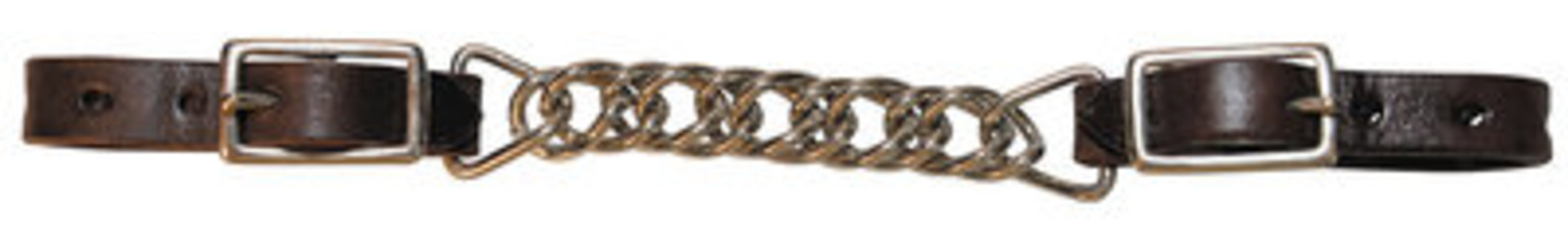 "Circle Y 3.5"" Double Flat Link Curb Chain"