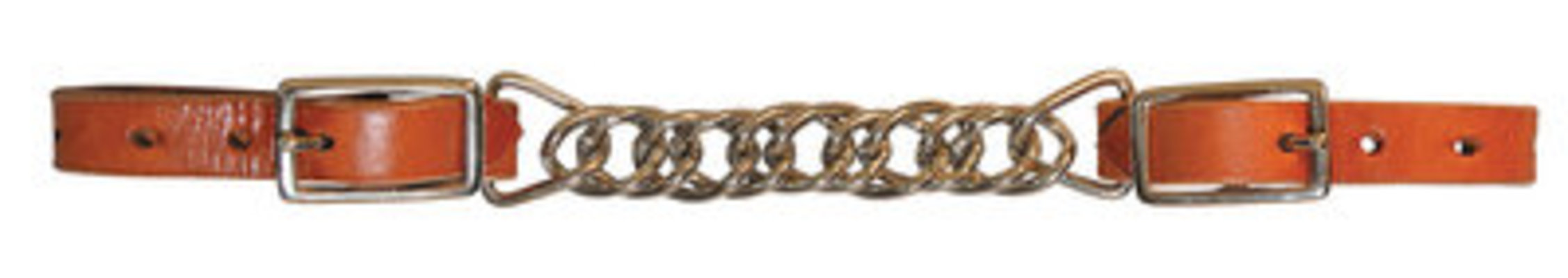 "Circle Y 4.5"" Double Flat Link Curb Chain"
