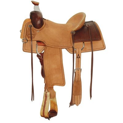 Circle Y Allen Ranch Saddle, Regular Tree