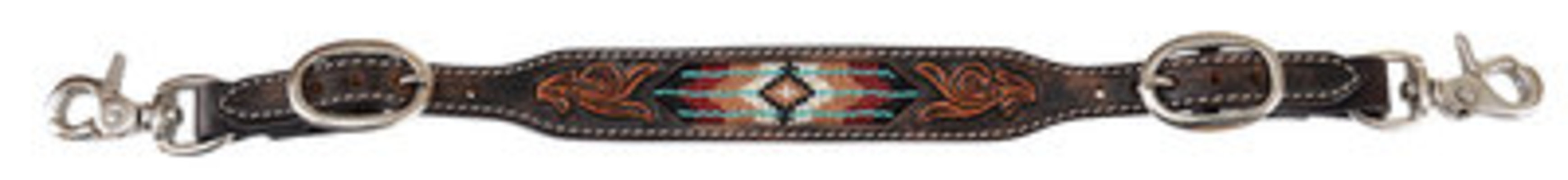 Circle Y Beaded Southwest Wither Strap