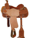 Circle Y Bixby Roper Saddle, Wide Tree