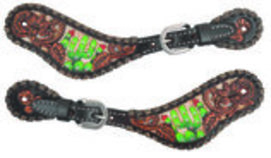 Circle Y Cactus Country Ladies Spur Straps