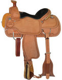 Circle Y Guthrie Select Roping Saddle, Regular Tree