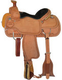 Circle Y Guthrie Select Roping Saddle, Wide Tree