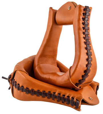 Circle Y Leather Laced Stirrups