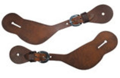 Circle Y Men's Shaped Spur Straps