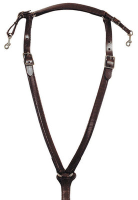 Circle Y Over-The-Neck Breast Collar
