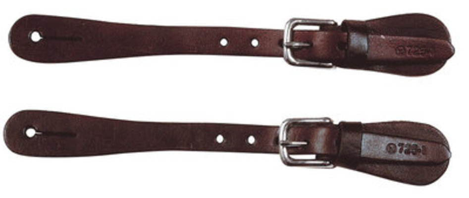 Circle Y Plain Spur Straps, Men's