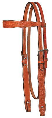 Circle Y Shaped Browband Headstall