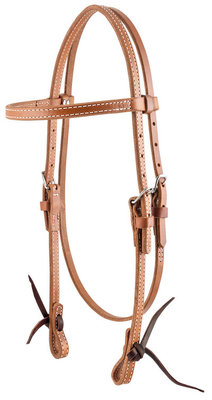 Circle Y Stitched Browband Headstall