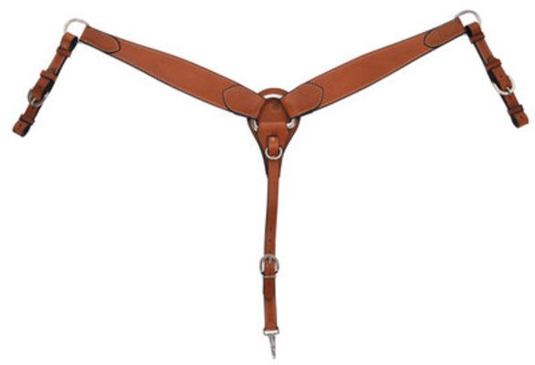 Circle Y Tapered Breast Collar