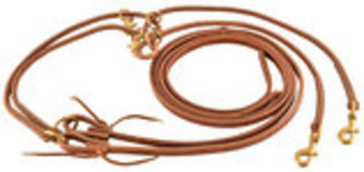 Clark Bradley Leather Training Reins