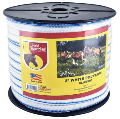 "2"" Classic Fencing Tape, 656 ft"
