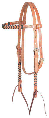 Classic Equine Laced Browband Headstall