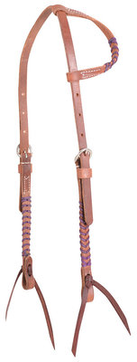 Classic Equine Laced One Ear Headstall