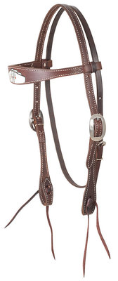 Classic Equine Tombstone Browband Headstall