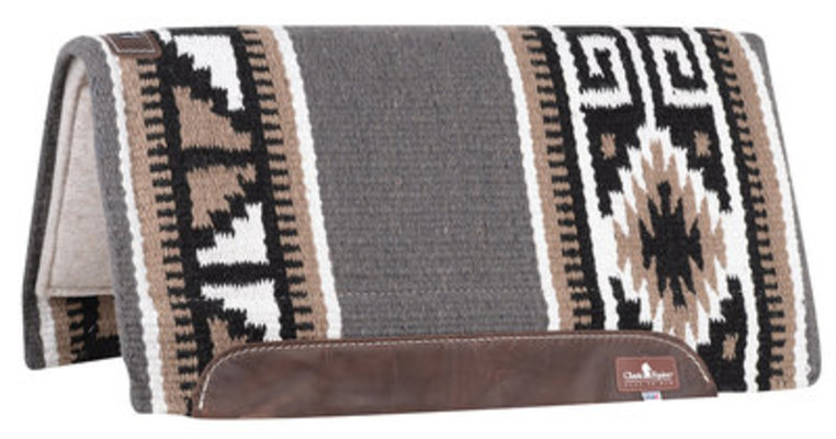 "Classic Equine Wool Top Saddle Pad, 32""x 34"""