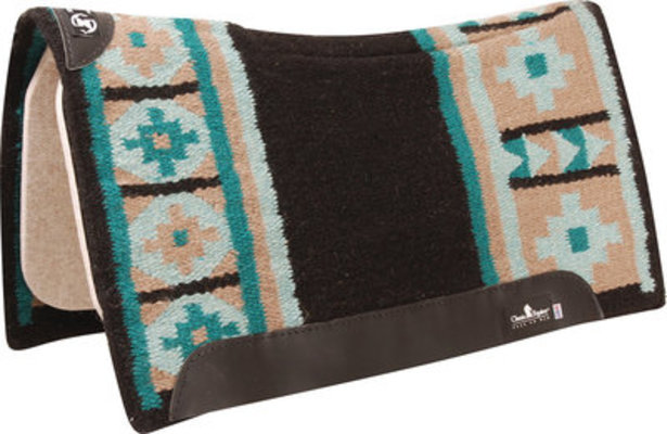 """Classic Equine Zone Wool Top Pad, 32"""" x 34"""""""